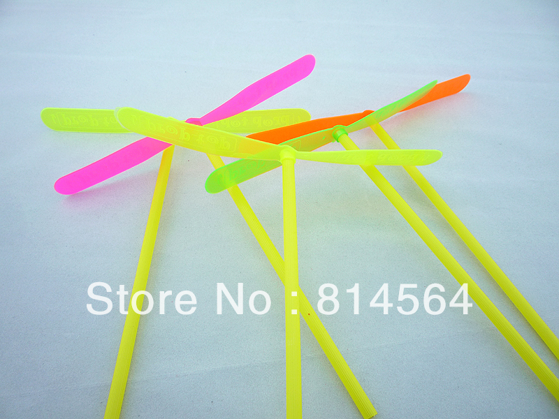 10PCS-Flying-Propeller-dragonfly-Flying-Toy-Children-Gift