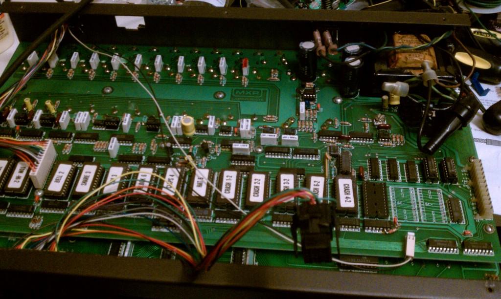 MXR185_Drum_Computer_circuitry